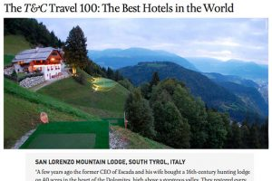 The T&C Travel 100: The Best Hotels in the World