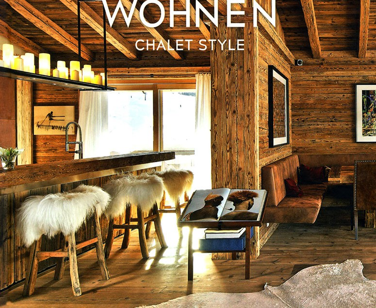 Modern living chalet style san lorenzo lodges for Moderner chalet stil