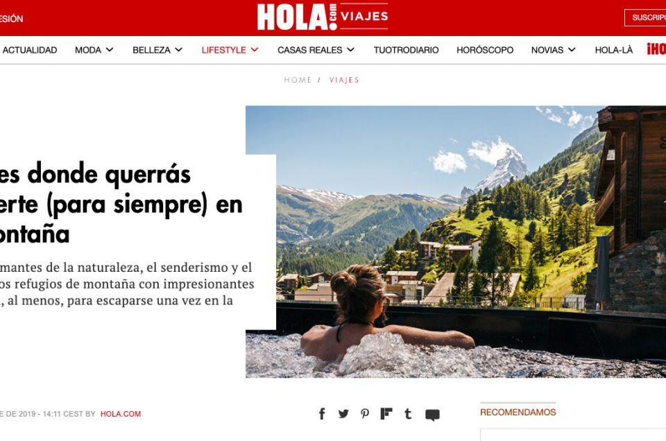 Holà – Lodges donde querrás perderte