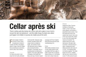 Upward Curve, Cellar Aprés Ski